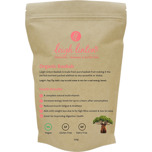 Organic Baobab Super Fruit Powder