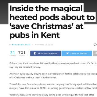 Kent insider valentina dining pods