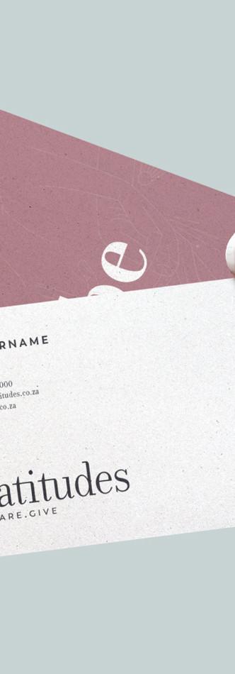 Beatitudes Business Cards