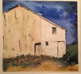 Summer Light on a Dairy Barn