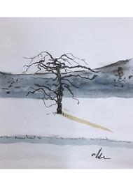 Apple Tree Study, New Paltz