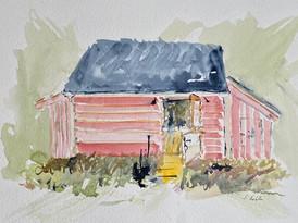 Dusk at the Horse Barn