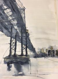 NYC East River Bridge--Sold