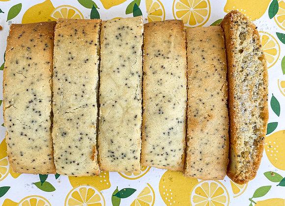 Lemon Poppy Seed Mandel Bread