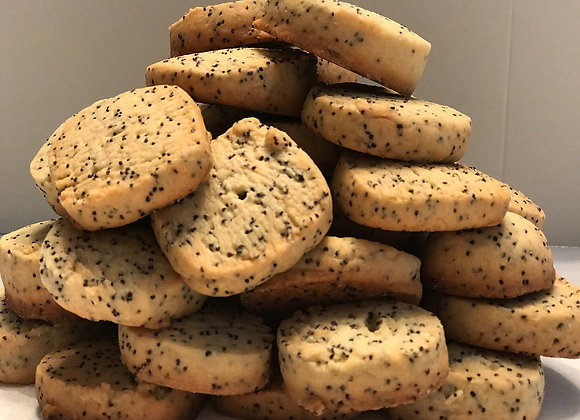 the perfect combination of sweet and savory our poppy seed cookies are the perfect bite