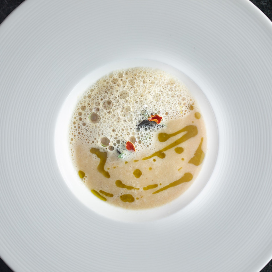 caspian sea black sturgeon bisque