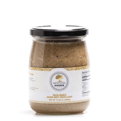 Vegan white truffle cream
