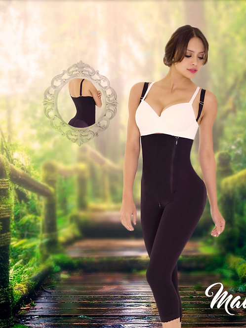 Full Girdle / Fisherman / High Back / Side and Bottom Closure / Strapless /
