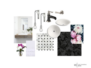 Black-drop Bathroom