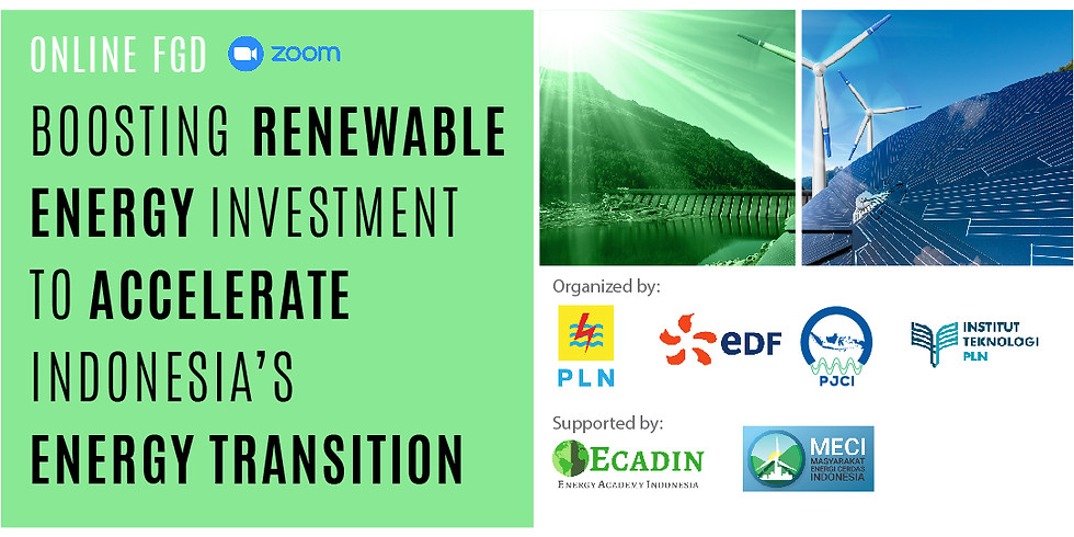 Boosting Renewable Energy Investment to Accelerate Indonesia's Energy Transition