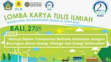 Lomba Karya Tulis Ilmiah Mahasiswa       se Jawa - Bali