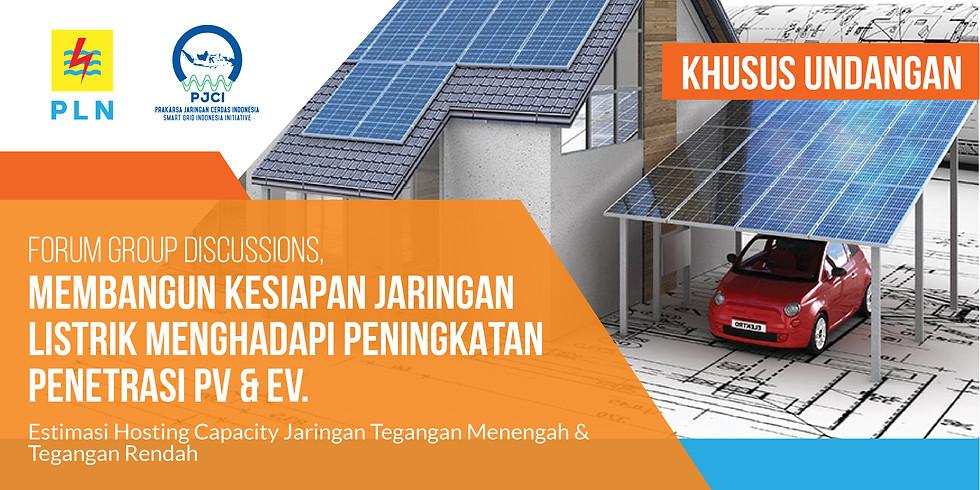 """FGD """"Membangun Kesiapan Jaringan Listrik Menghadapi Peningkatan Penetrasi PV & EV"""
