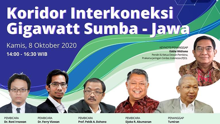 Koridor Interkoneksi Gigawatt Sumba - Jawa