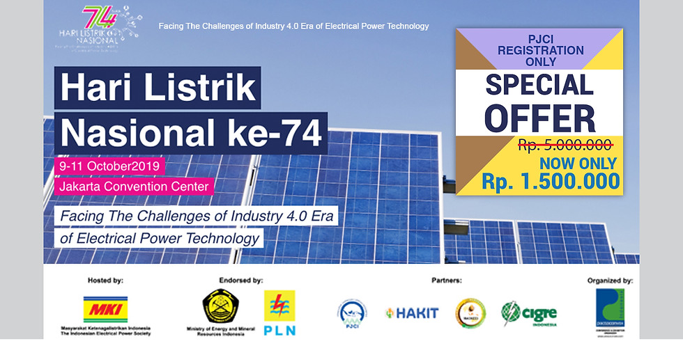 The 74th INDONESIA NATIONAL ELECTRICITY DAY (1)