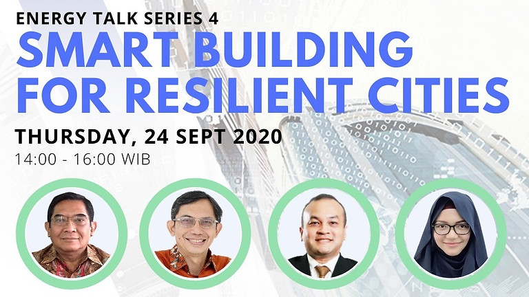 "PJCI - Pamerindo EnergyTalk Series ""Smart Building for a Resilient City"""