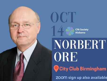 10/14/21: Norbert Ore, Head of Industry Surveys