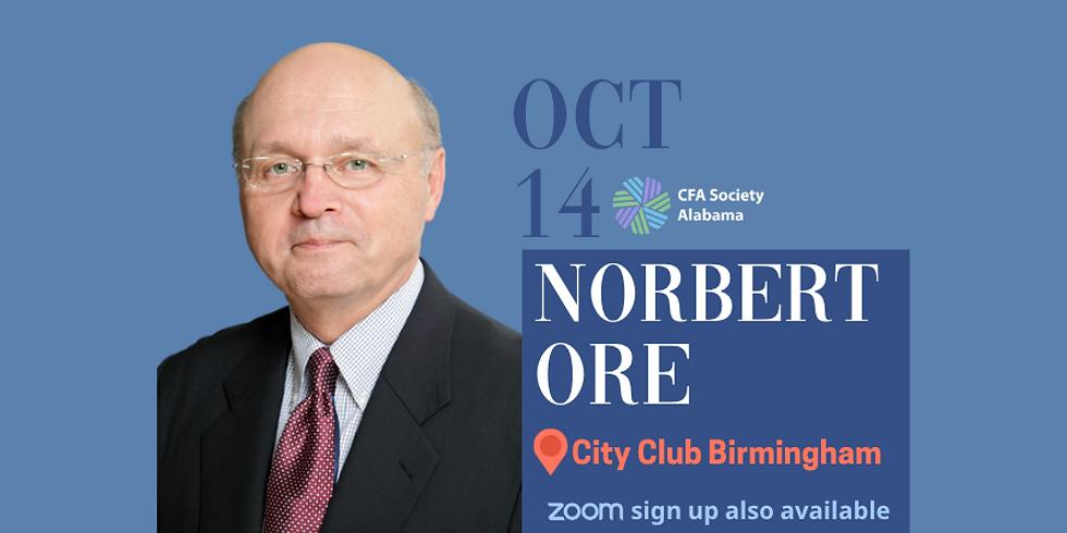 10/14/2021: Norbert Ore, Head of Industry Surveys