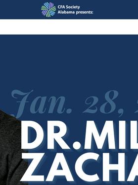 1/28/2021 - Dr. Miles Zachary, Ph.D., Assistant Professor of Management Auburn University