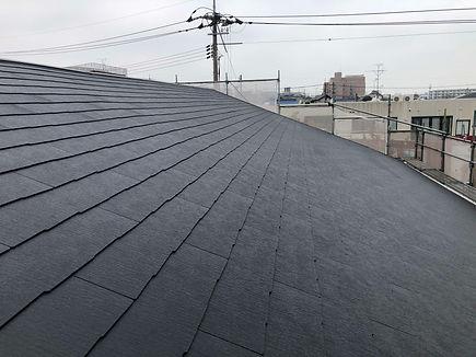 屋根工事 下地補強後