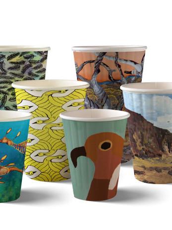 Bio Art Series Coffee Cups
