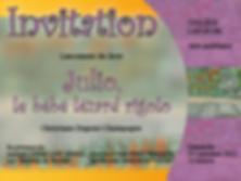 Lancement du livre Julio, le bébé lézard rigolo