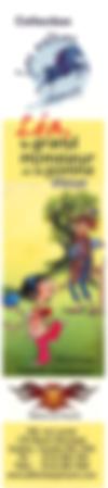 Signet de Léa, le grand monsieur et la pomme bleue