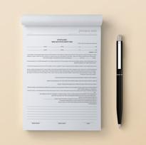 פנקס 34 | הסכם בלעדיות (A4)
