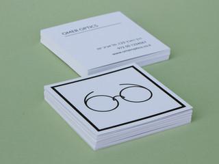 עיצוג לוגו, כרטיס ביקור