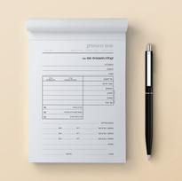 פנקס 8 | חשבונית מס קבלה לעורכי דין