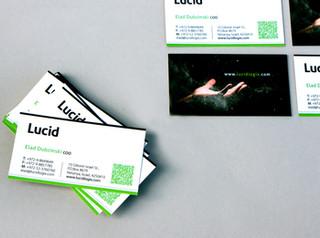 כרטיס ביקור בגימור מט