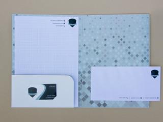 מיתוג ועיצוב לוגו, סט ניירת משרדית