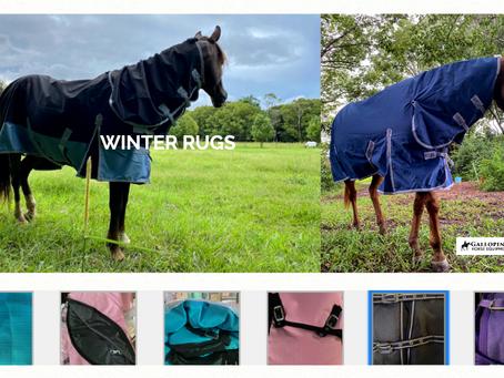 Winter Rugs $85-$95