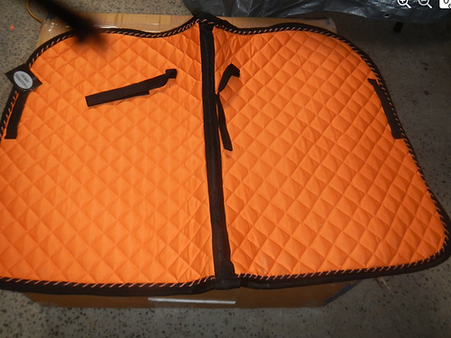 Saddle Pads- orange