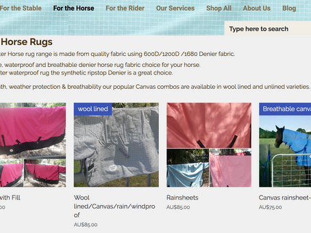 Winter Rugs! Quality Denier rugs & breathable Canvas!