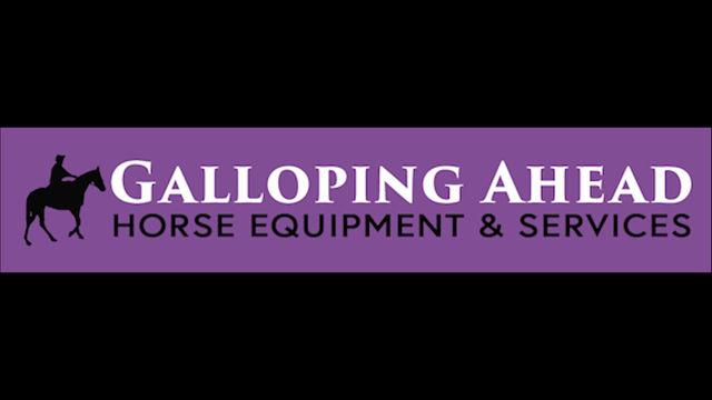 HorseyWild (young youtube vlogger) showcase Galloping Ahead saddle blankets, July 2021.