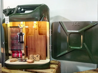 Jerrycan Mini bar Classic Vintage France