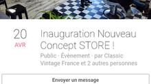 Inauguration nouveau Concept Store