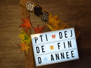 Le pti dej de fin d'année le dimanche 19 Novembre !!