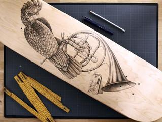 L'artiste STEEVEN SALVAT et son coup de crayon !