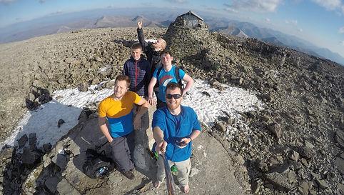 Ben Nevis Summit, Clear Day