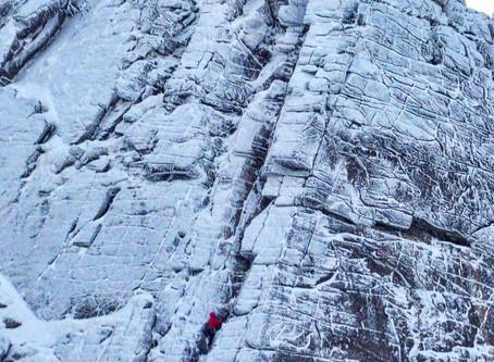 Last Climb of the winter season.