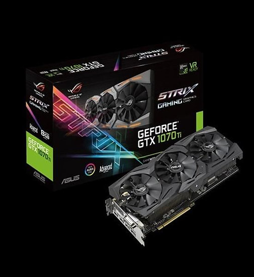 ASUS ROG STRIX-GTX1070TI-A8G GAMING TRIPLE FAN