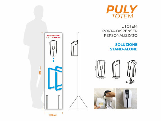 PULY TOTEM | Dispenser Automatico