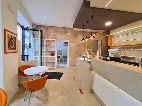 Nuovo Caffè al Portico a Rovereto.  Fier