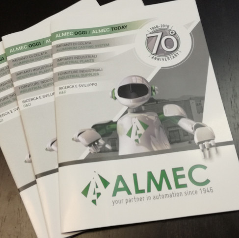Almec Magazine 70th Anniversary