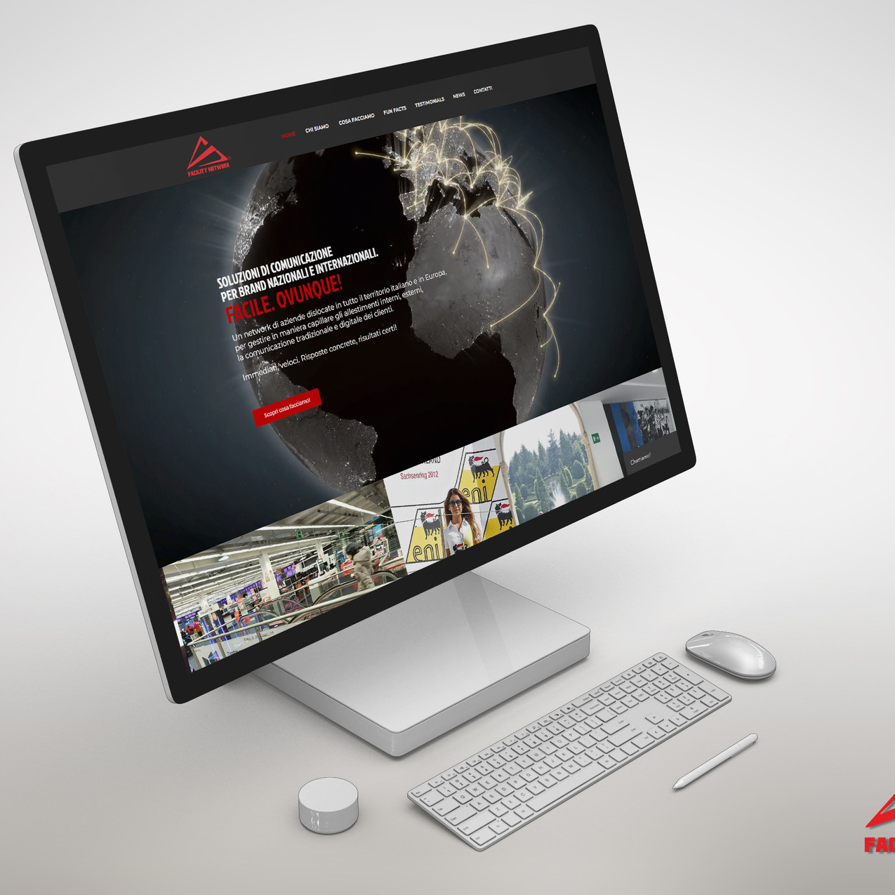MOCKUP 2 - FACILITY NETWORK WEB