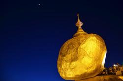Golden rock【Myanmar】
