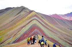 Rainbow Mountain【Peru】