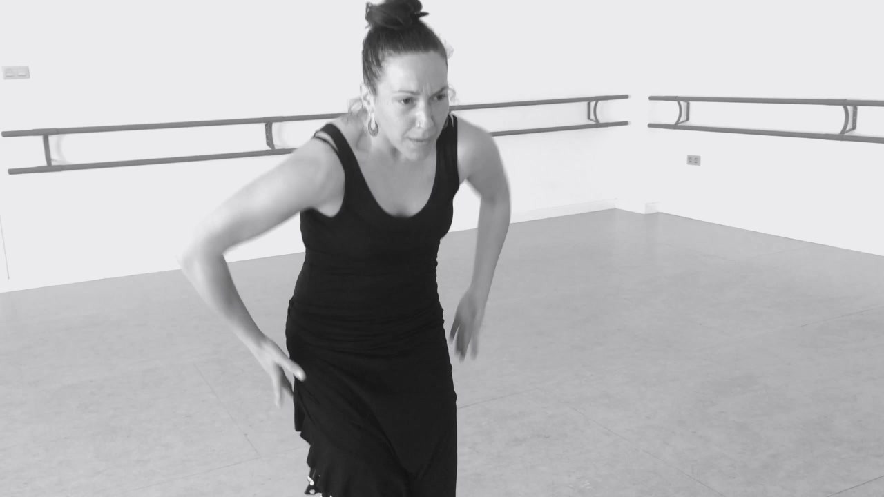 video/clases Escuela flamenco danza en Granada Oscar Quero