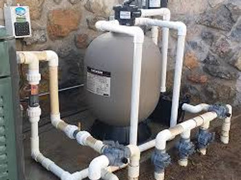 Programmable Pool System w/Sand Filter